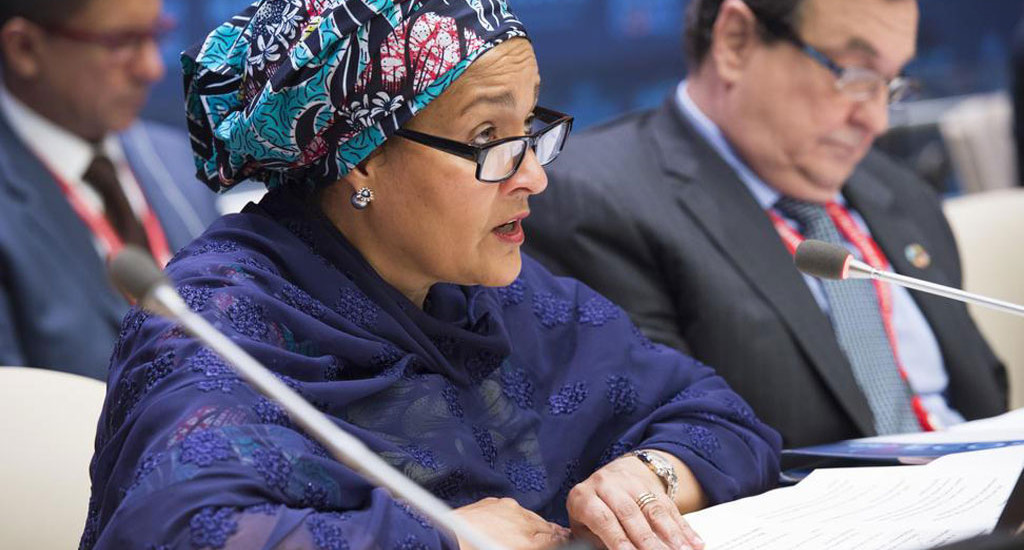 Nigeria's Amina Mohammed resumes work as the UN Deputy Secretary-General