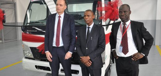 First FUSO trucks assembled in Nigeria