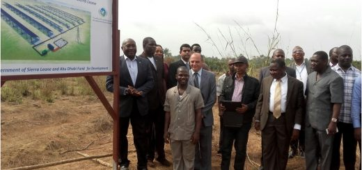 Sierra Leone inaugurates Solar Park Freetown project