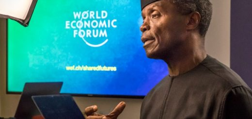 Osinbaj at WEF 2018