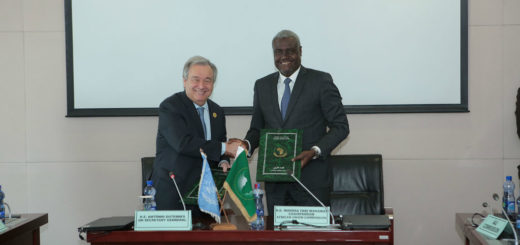 UN-AU leaders sign framework for implementing agenda on sustainable development