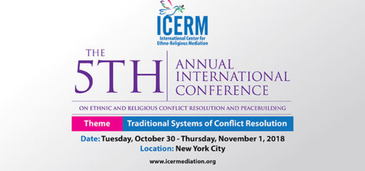 5th International Conference on Ethnic, Religious Conflict Resolution and Peacebuilding