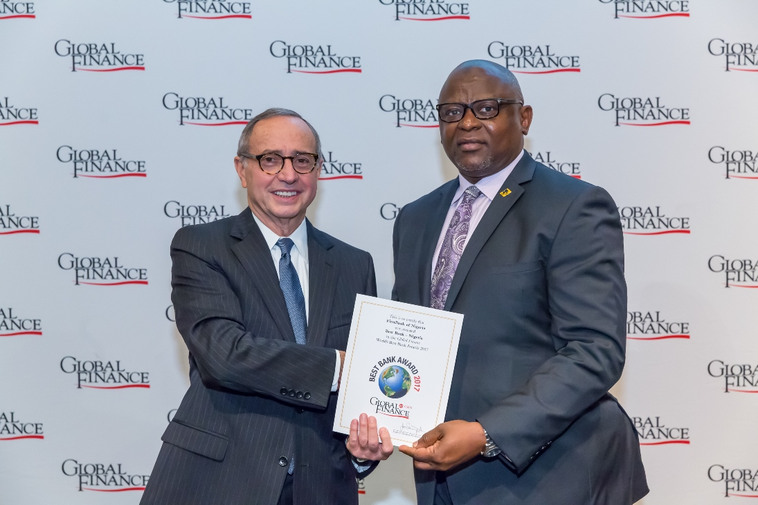 FirstBank wins award as Most Valuable Bank Brand in Nigeria