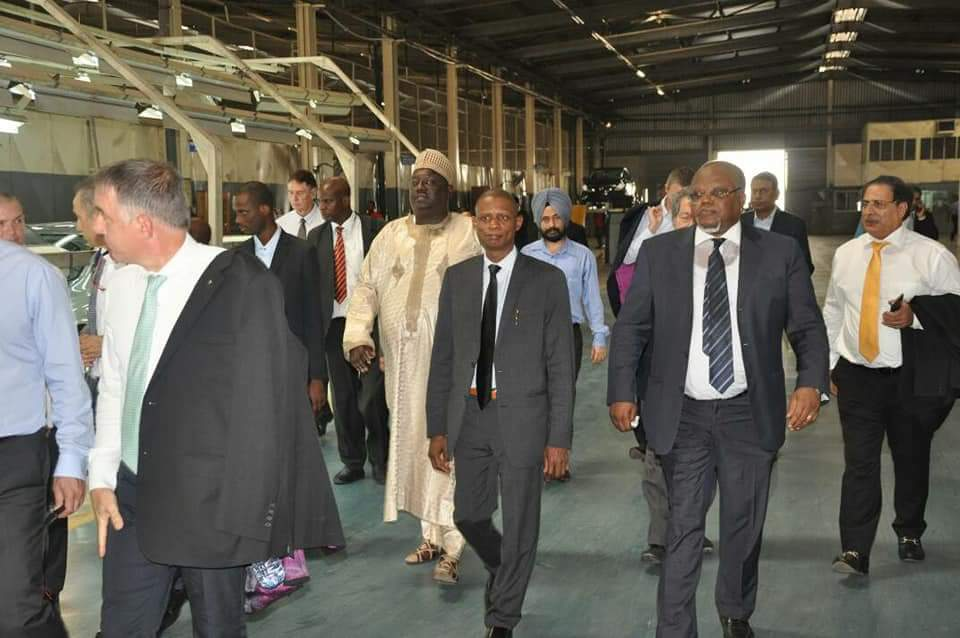 Nissan, NADDC holds talks on expanding  production line in Nigeria