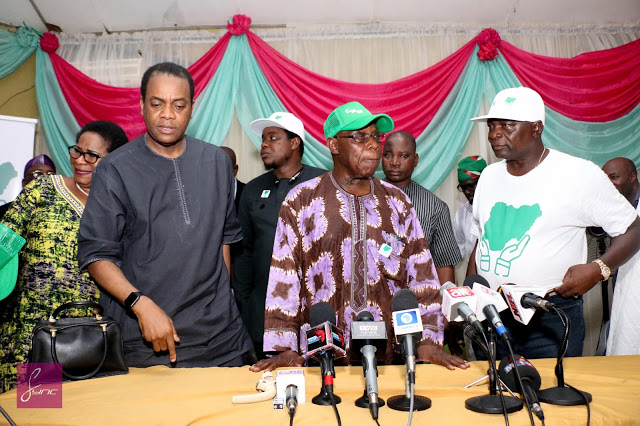 Obansanjo's Coalition hits three million as Nigerian generals lament rising insecurity