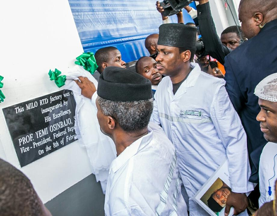 VP Osinbajo to multinationals: You can bet on Nigeria's future, set up factories here now