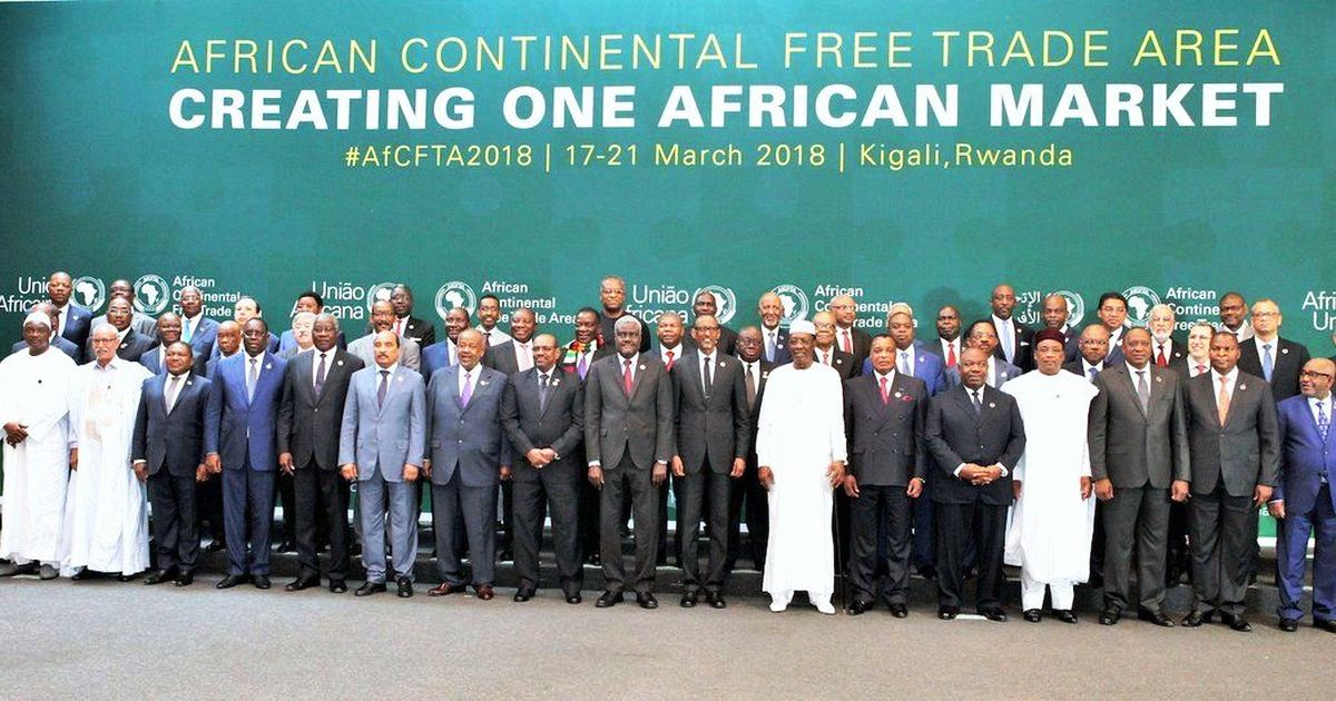 Nigeria absent as 44 African countries sign continental free trade agreement