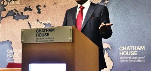 Atiku Abubakar at the Royal Institute of International Affairs