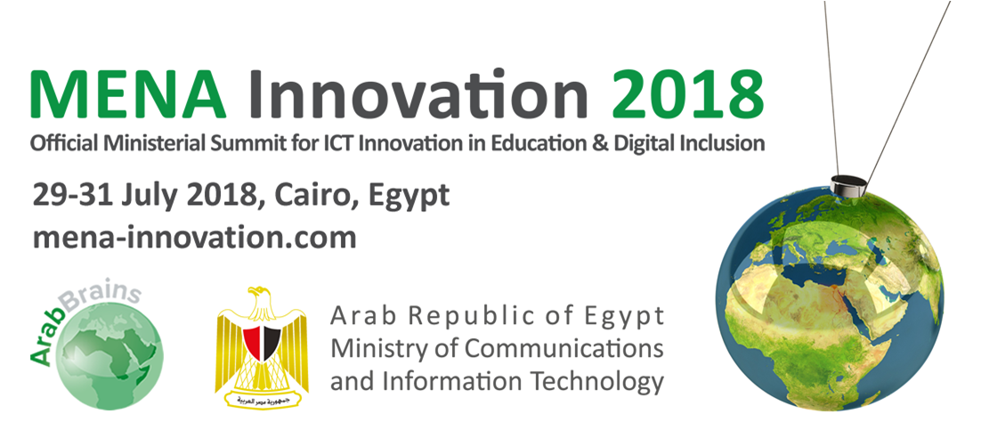 MENA Innovation 2018: Official Ministerial Summit For ICT Innovation In Education & Digital Inclusion